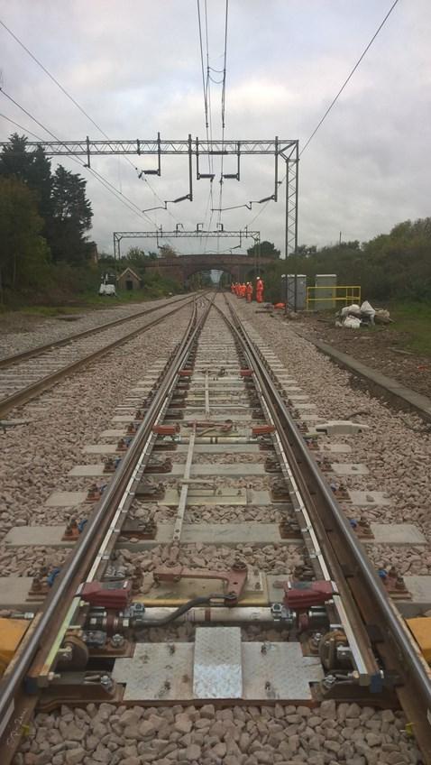 New track installed at Kelvedon Essex