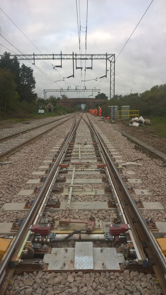 New track installed at Kelvedon Essex