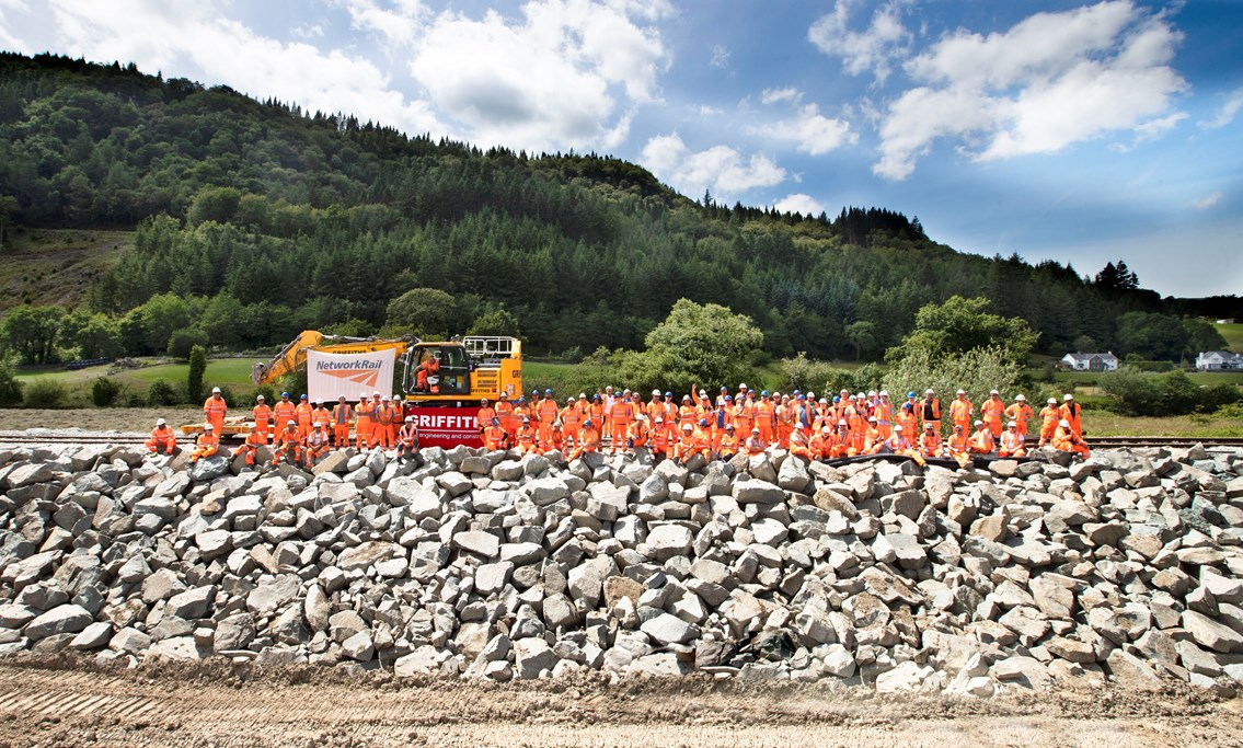 Conwy Valley Line will reopen for passengers ahead of the National Eisteddfod: NetworkRail Griffiths