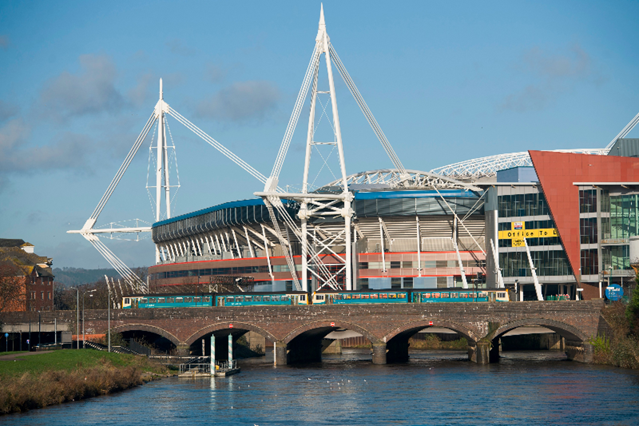 Rail passengers reminded to check before travelling ahead of boxing in Cardiff: Principality Stadium
