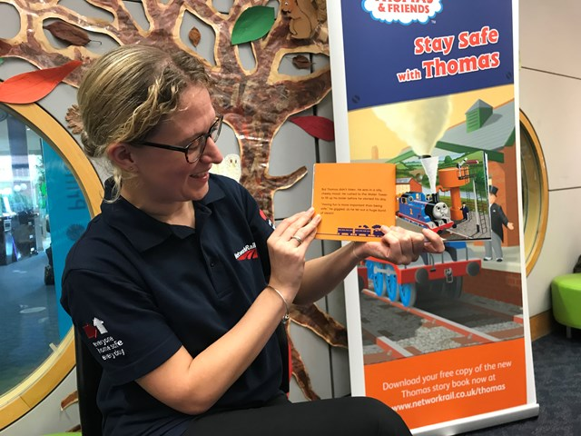 Stay Safe with Thomas launch reading session Norwich Library