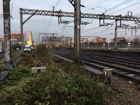 Bethnal Green maintenance works Christmas Day