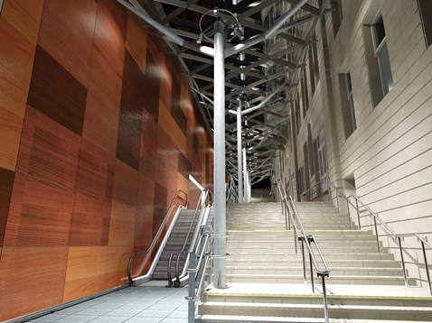 Waverley Steps and lift access - artist impressions_5