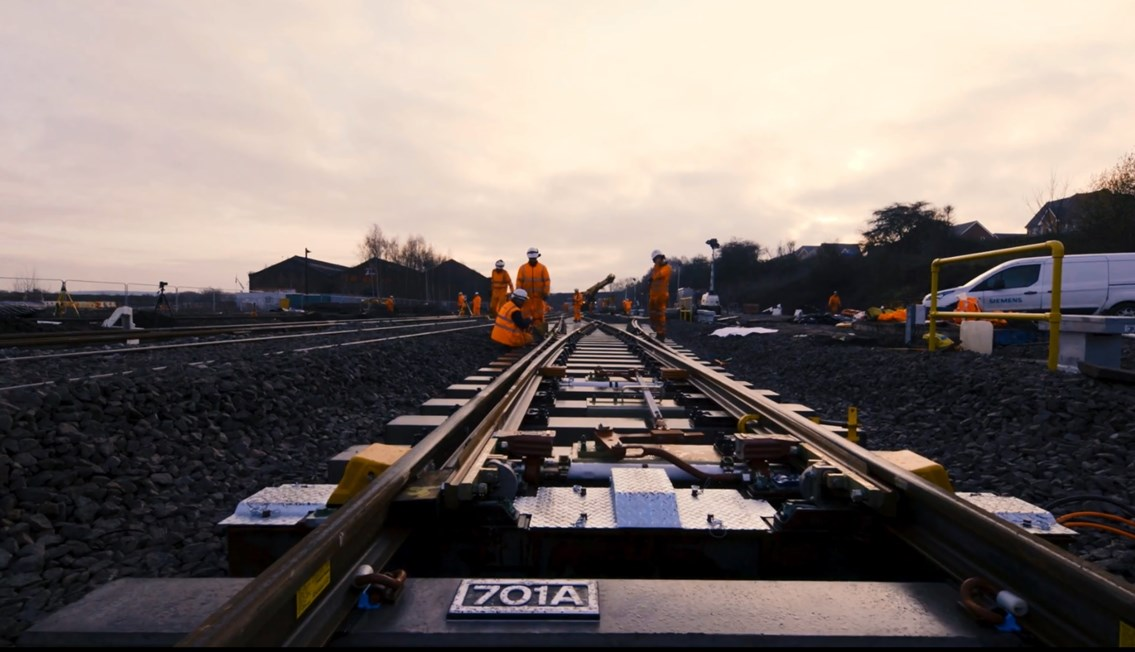 Network Rail successfully completes Christmas improvements on the Midland Main Line: Network Rail successfully completes Christmas improvements on the Midland Main Line