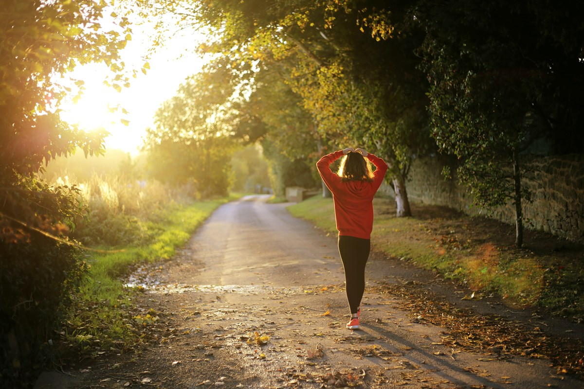 Health insurance - woman jogging