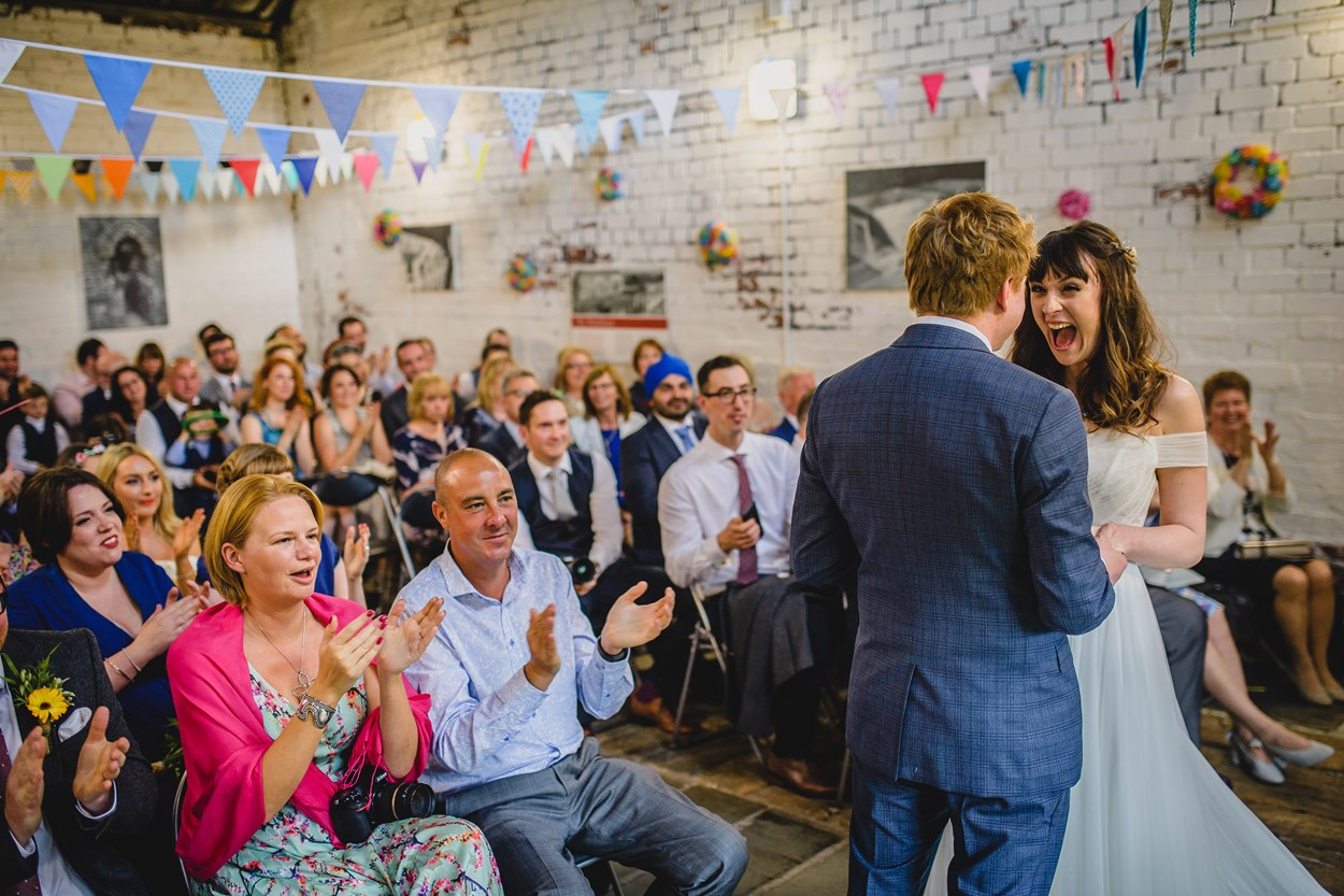 Thwaite at 30: Today, the mill and its buildings are a popular wedding venue.
