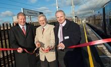 Longer platforms opened at Finsbury Park