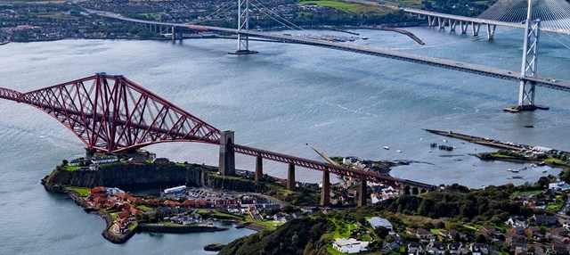 Forth Bridge North Queensferry approach spans