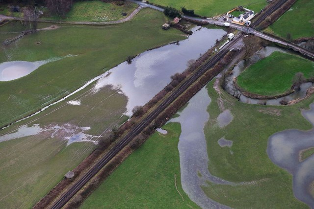 Timetable changes as £9m flood defence work gets underway: Axe Valley Broom Ln-2