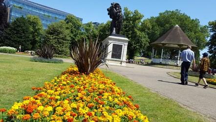 The Forbury Gardens: The Forbury Gardens