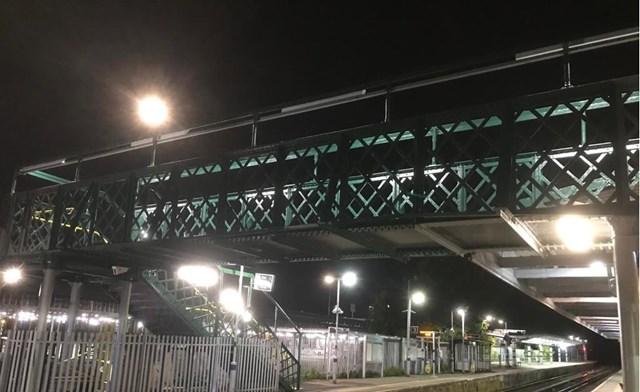 £0.6m investment at Elmers End station to refurbish footbridge in south London: Elmers End footbridge