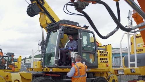 Safety Step-Up yn Ffynnon Taf