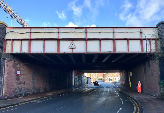 Garston residents invited to find out more about railway bridge refurbishment: Church Road bridge in Garston Liverpool