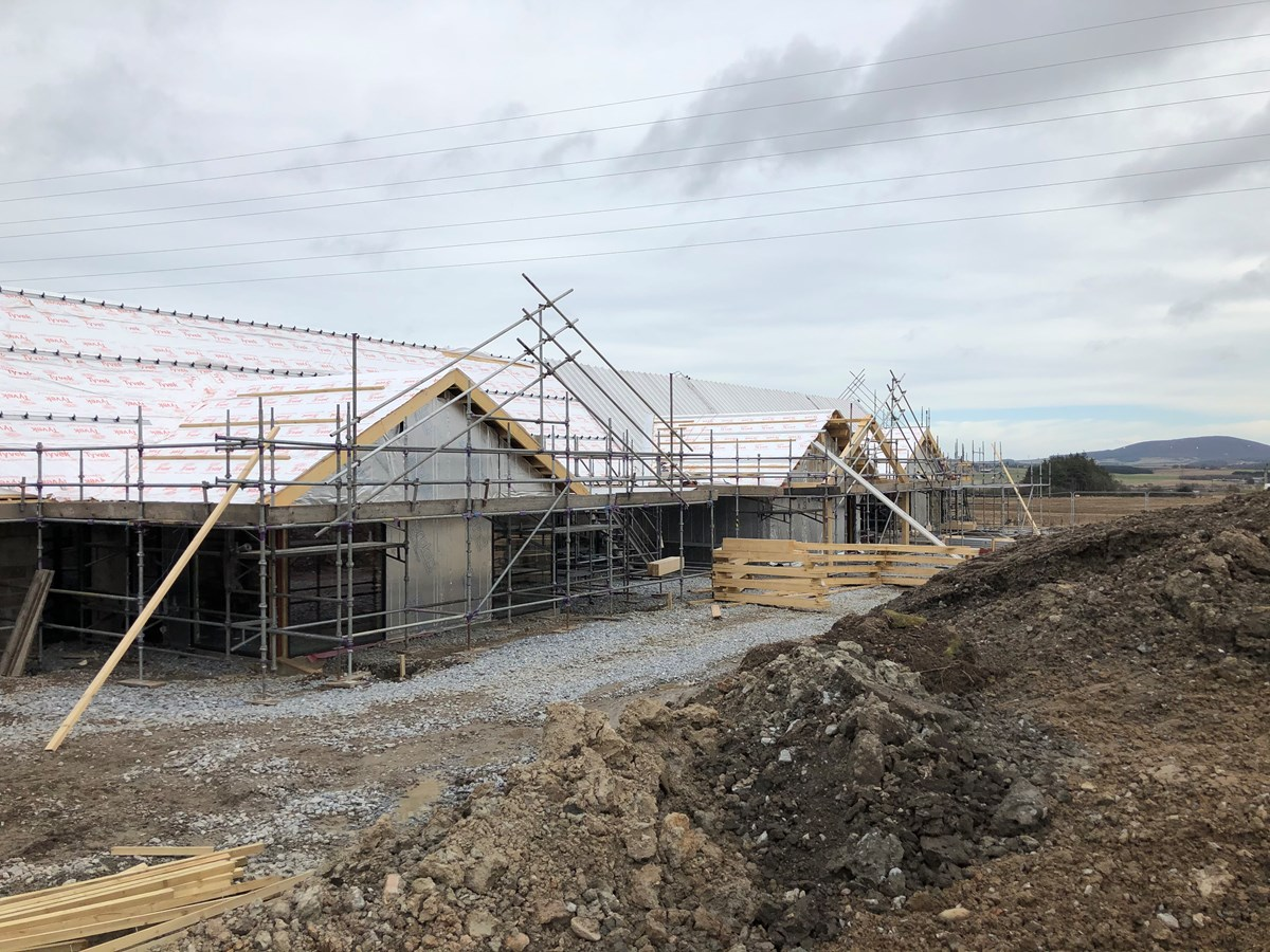 Strathisla Children's Centre March 2021 progress