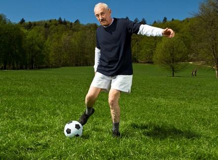 Walking football growing in popularity: Walking football growing in popularity
