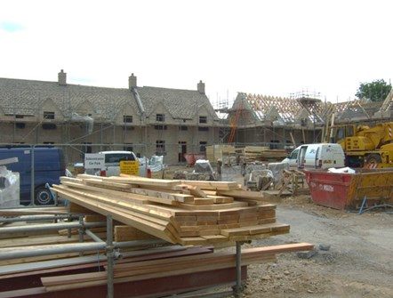 Community Infrastructure Levy goes live in Cotswolds on 1 June 2019: Building Site
