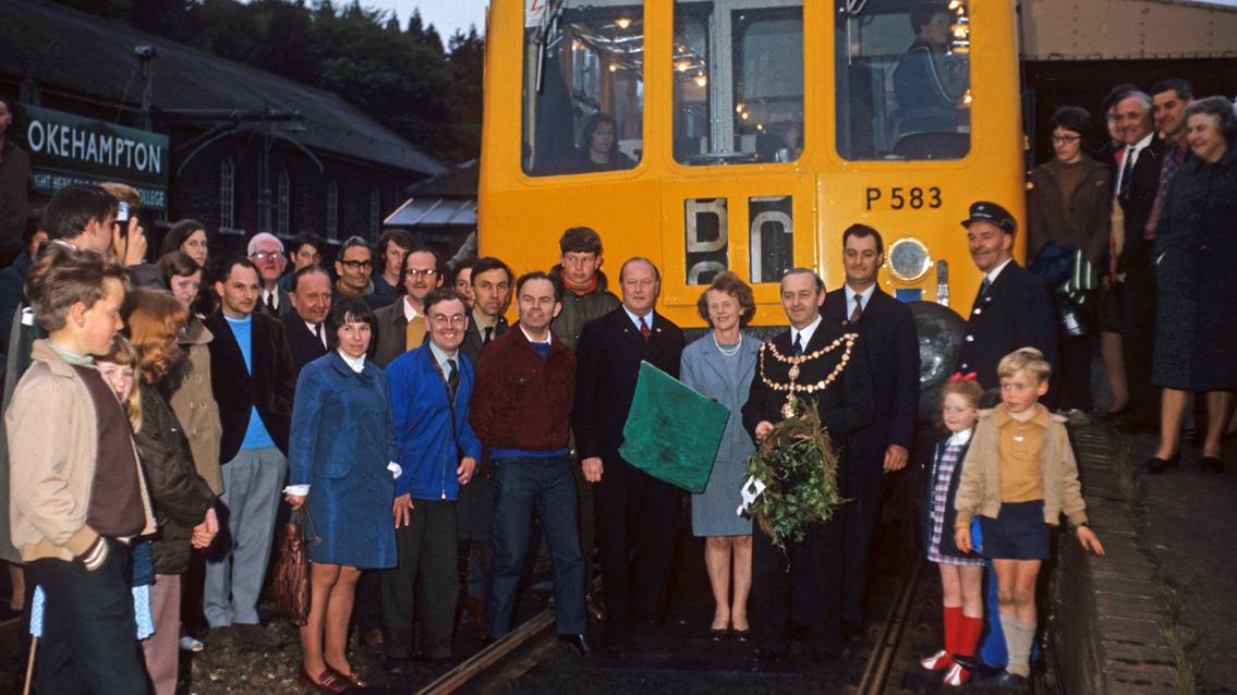 Okehampton photograph stirs memories of a day tinged with sadness for GWR employee: 351.Okehampton last train 03-06-1972 web