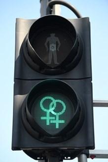 Siemens Mobility Unveils Diversity Pedestrian Traffic Signals for Bourne Free Festival