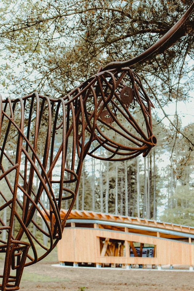 Tentsmuir pavilion opening - credit SNH