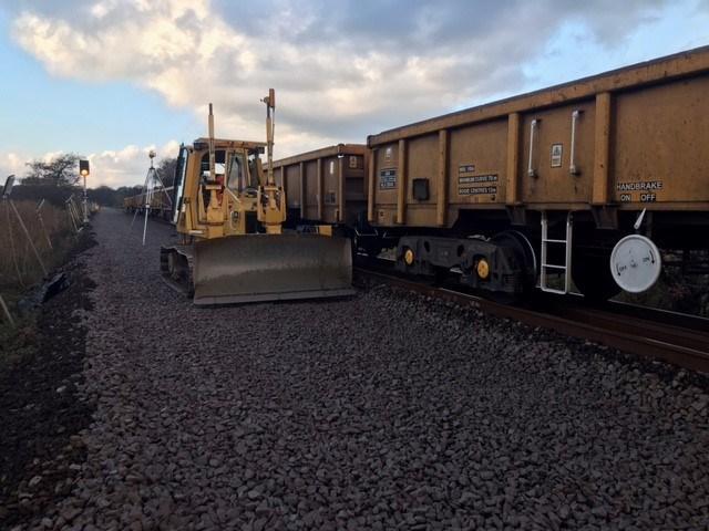 Somerleyton track renewal 3