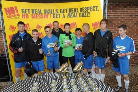 U14 winners - Sporting Cobraz