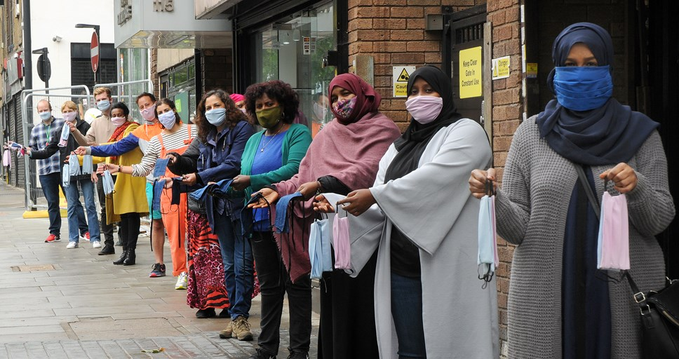 Islington Council helps local sewing heroes in fight against coronavirus: Face Masks Project