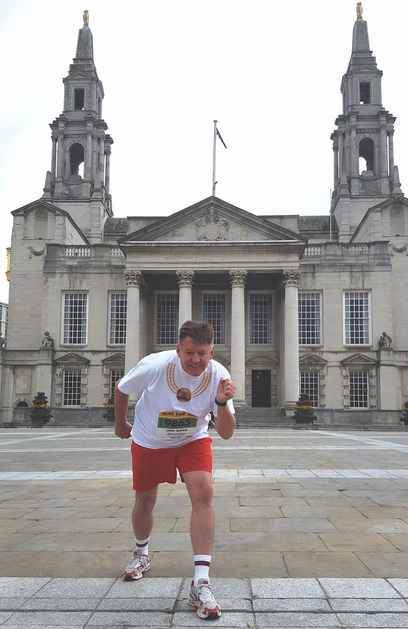 Lord Mayor to take on double challenge at Leeds 10k in aid of his chosen charities: 10krun2-2.jpg