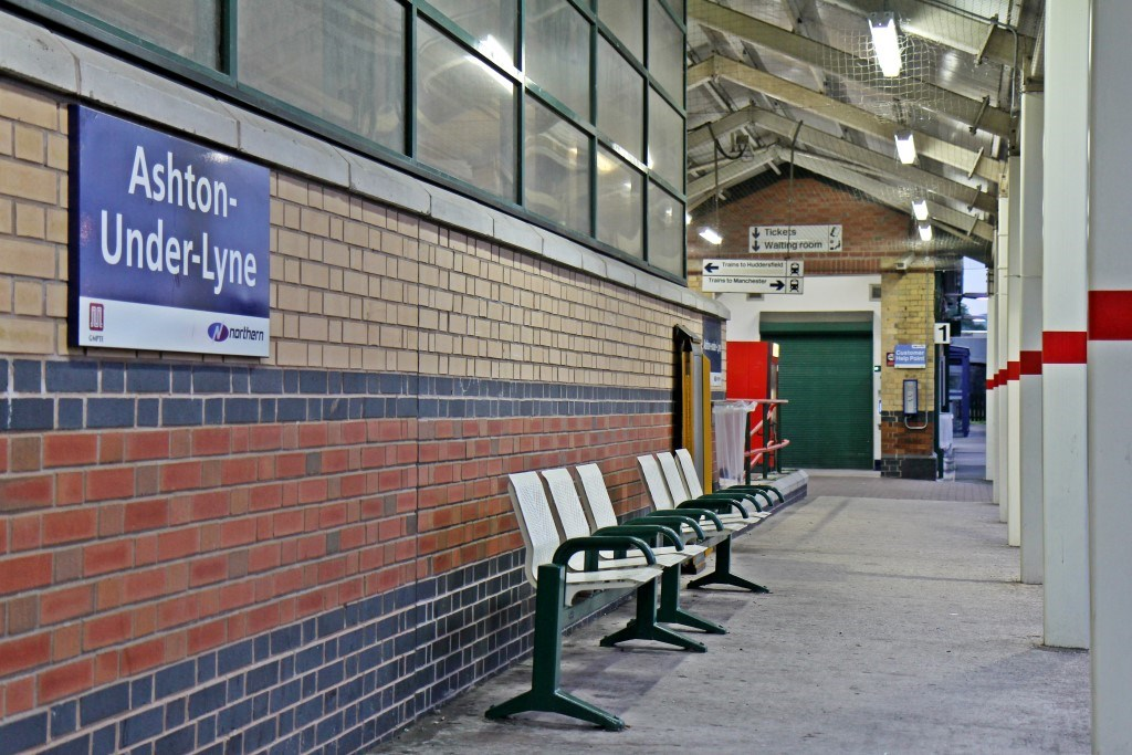 Residents invited to find out more about Ashton-under-Lyne station closure: Ashton-under-Lyne railway station - platform 1-2