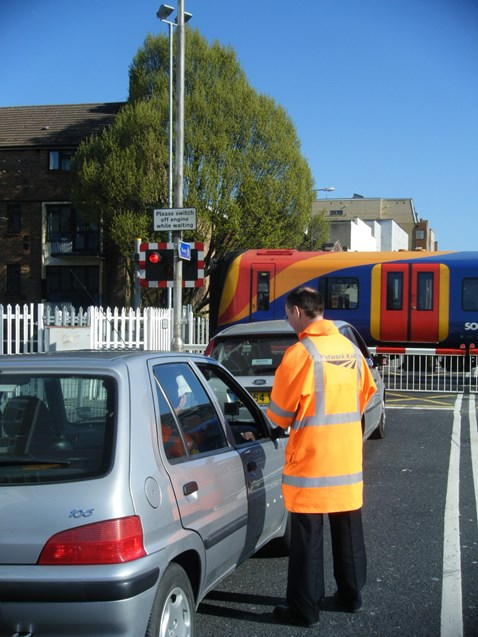 Cosham Level Crossing Awareness Day