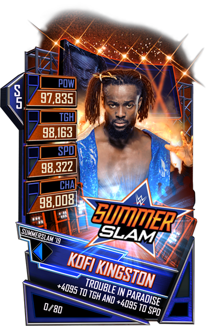 WWESC S5 Kofi Kingston SS19