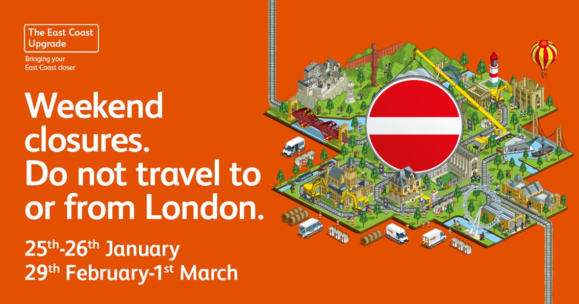 NO trains in or out of London King's Cross this weekend as landmark upgrade to improve services continues – and further dates of disruption announced for 2020 and 2021: NO trains in or out of London King's Cross this weekend as landmark upgrade to improve services continues
