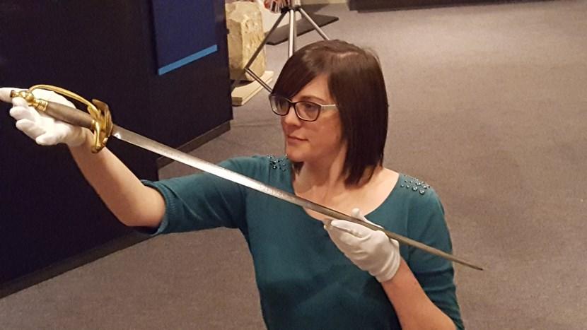 Sword of real life Sharpe goes on display in Leeds: 20161017-113821.jpg