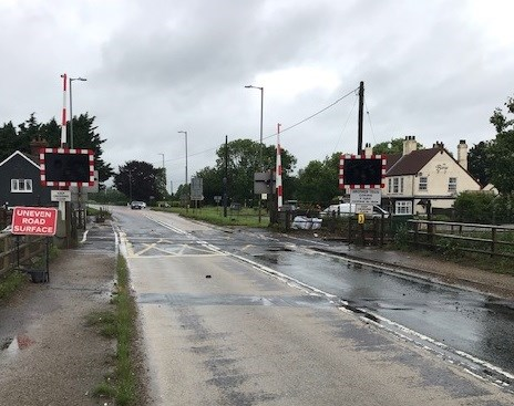 Network Rail begins work to improve a Lincolnshire level crossing next month: Swineshead level crossing