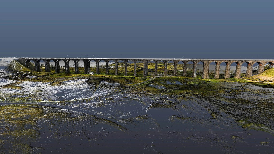 Ribblehead viaduct CGI 2