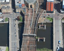 6 Feb Clyde viaduct Aerial 2
