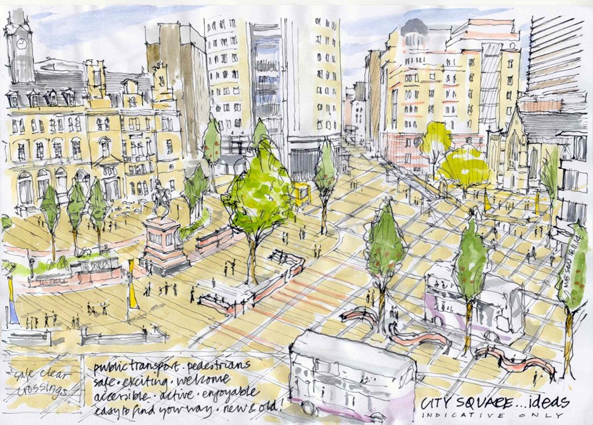 Executive board to look at the future of city's public spaces: citysquare-sketchidea-2014.jpg