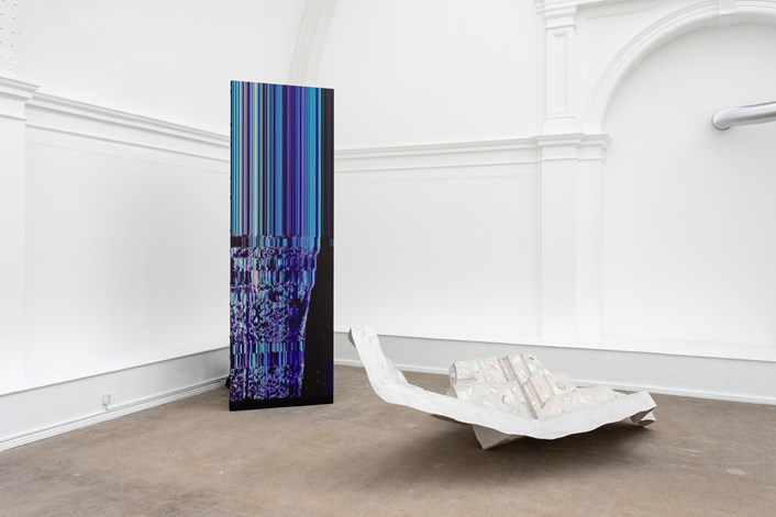 Spatial Drifts: Spatial Drifts by Leeds artist James Thompson is at Leeds Art Gallery until October 16. Image credit Jules Lister