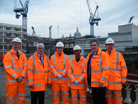 Apprentices take centre stage for Blackfriars visit
