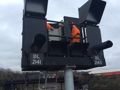 Signal upgrade Bristol 2018