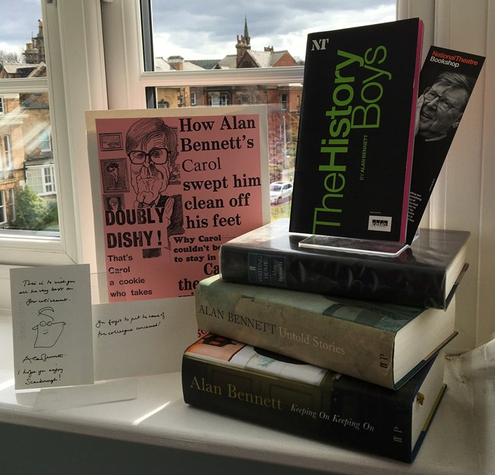 Museum window project calls on local residents to make history at home: Alan Bennett Window