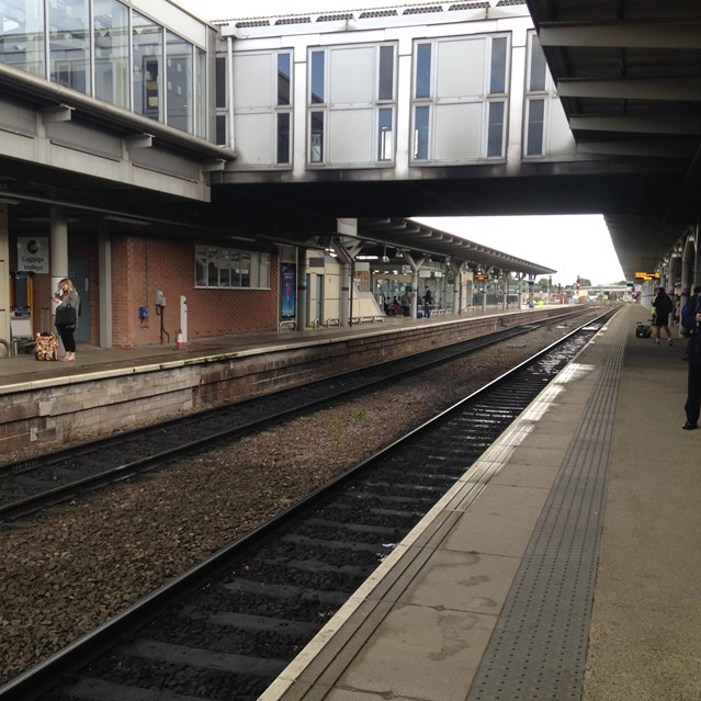 Network Rail to hold information event ahead of railway upgrade: Derby Station 3