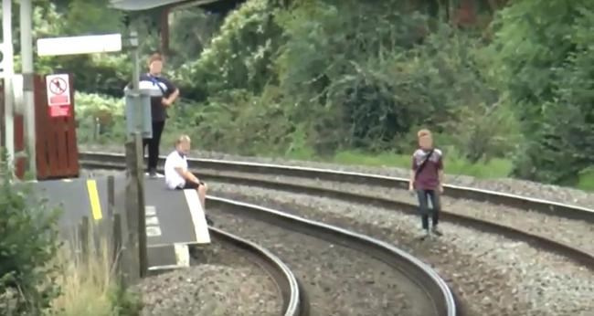 Network Rail urges young people to stay safe by staying off the tracks this half-term: Trespassing is on the increase