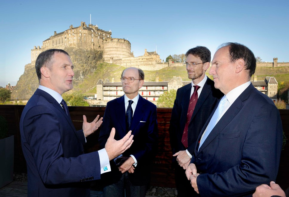 Longannet and Hunterston shortlisted for Talgo factory: Talgo Announcement Edinburgh 06