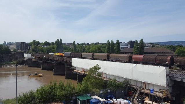 Railway upgrade will improve Newport viaduct: Railway upgrade will improve Newport viaduct