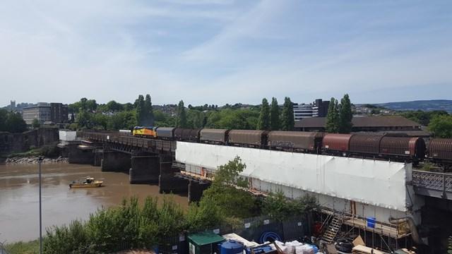 Railway upgrade will improve Newport viaduct