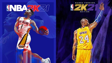 NBA 2K21 NG Cover Side-by-Side