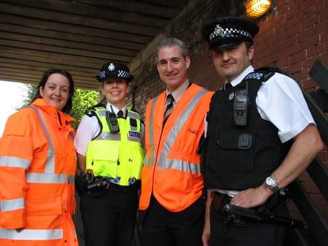 Community partnership at Burley Park station