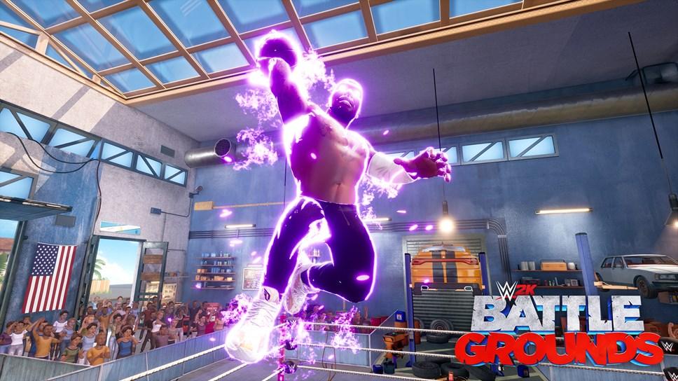 WWE2K BG Laheem Lillard Slam