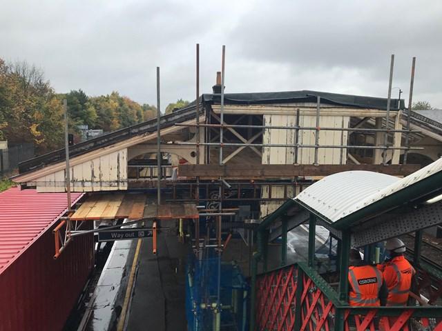 St Denys station to get new platform roofs: St Denys platform canopy - main pic