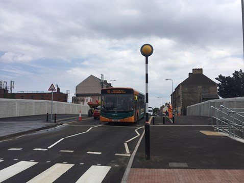 Splott Road Reopened